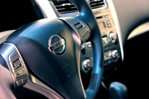 Nissan auto stuur